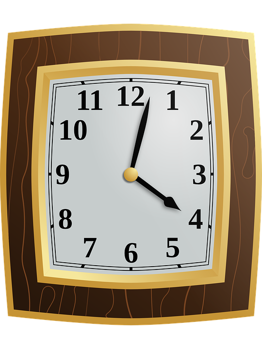Free vector graphic: Clock, Wood, Time, Hour, Minute - Free Image ...
