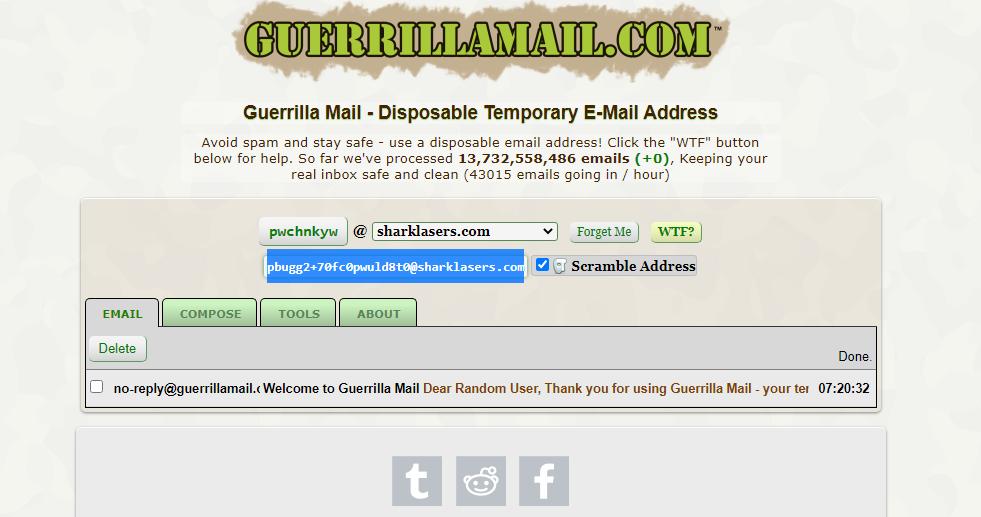 Guerrillamail
