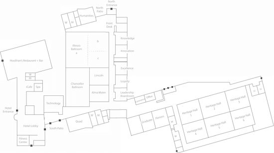 Make sure you also have a map/layout of the venue itself, especially if it is a large conference. Things will go much more smoothly if you already know where you are going when you get to the event.