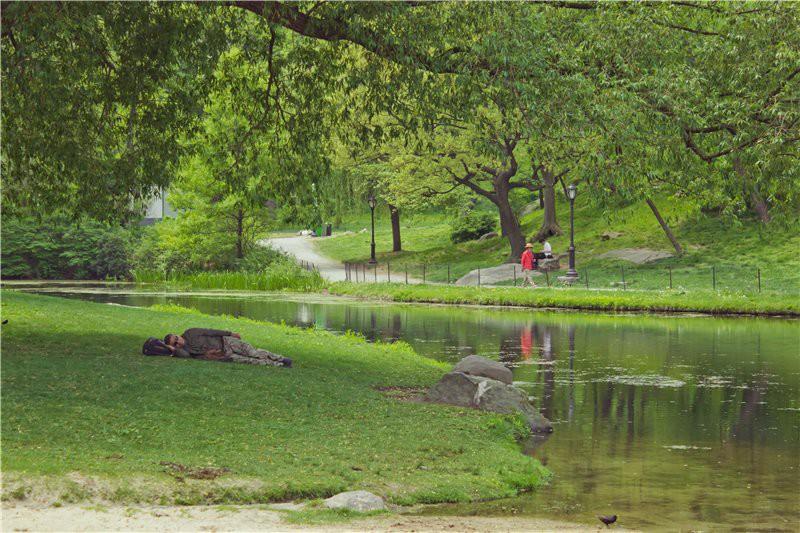 Спящий в Центральном Парке. США глазами туриста, туризм, факты