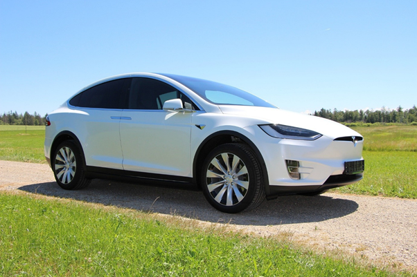 The Tesla Model X maintains a strong residual sale value.