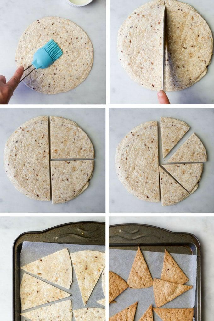Baked Tortilla Chips - Healthy Little Foodies