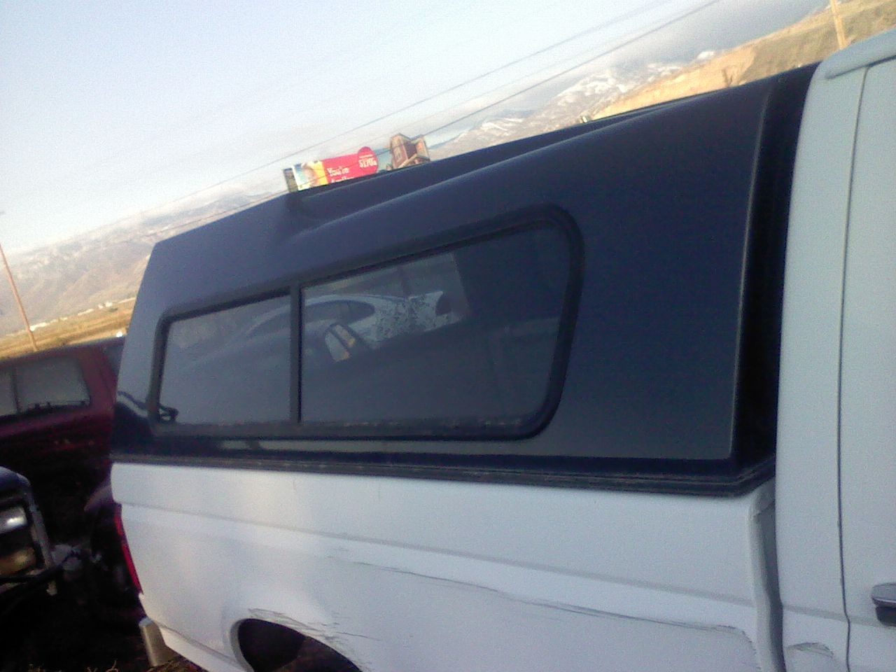 Auto Wrecking Parts LLC: Camper shell for 1996 Ford F150