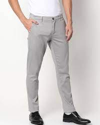 Buy Grey Trousers & Pants for Men by NETPLAY Online | Ajio.com