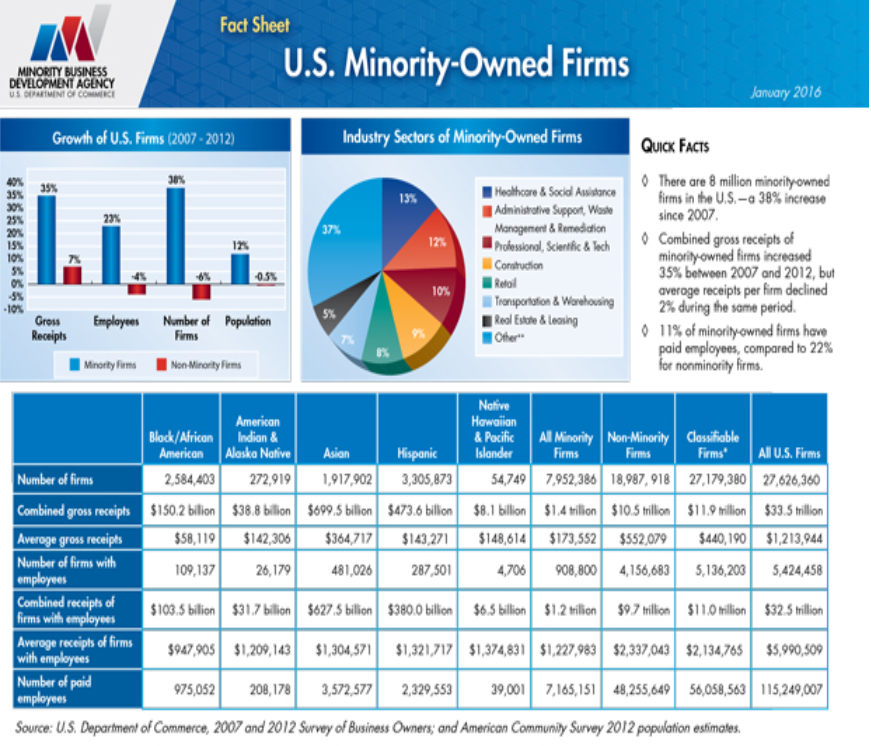 shares of sba loans for minorities out of all businesses