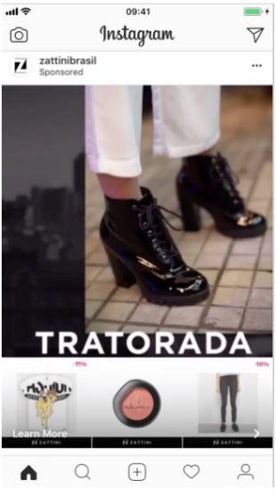 instagram advertisement