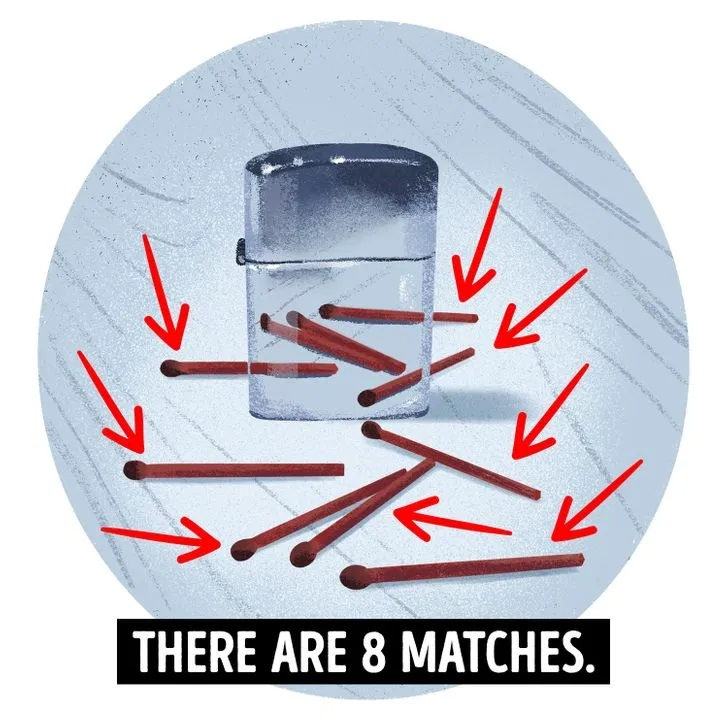 Answer to matches riddle