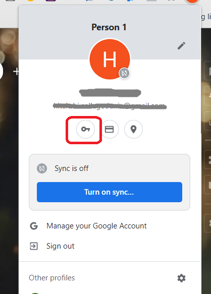 how to find saved passwords in Google Chrome?