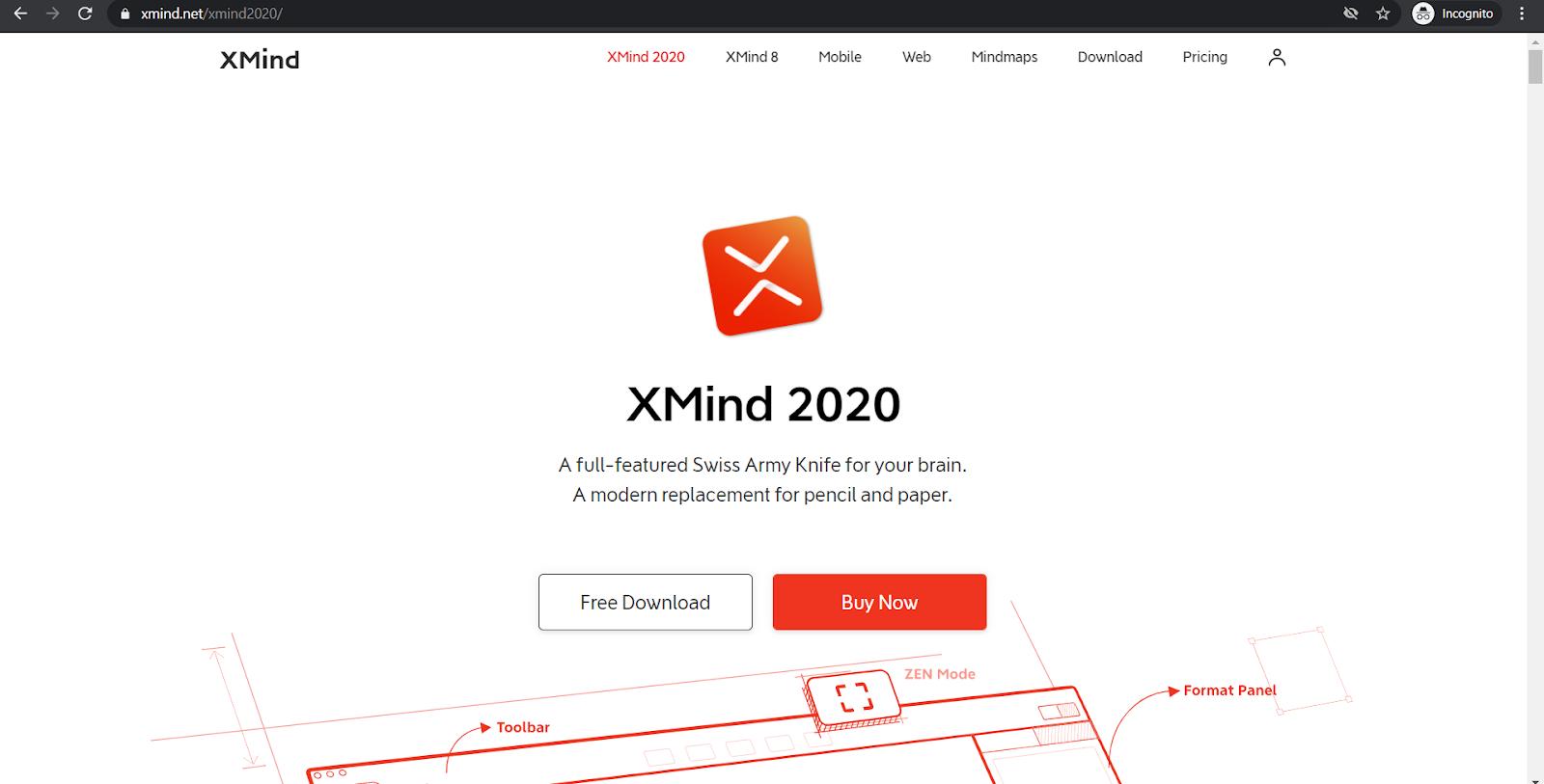 xmind 2021 homepage