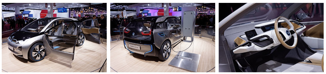 Bmw i3 - Salon