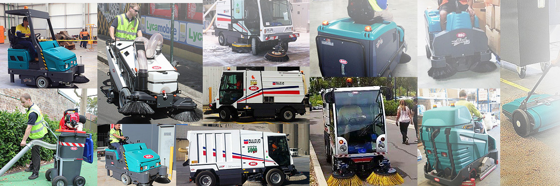 various commercial cleaning equipments