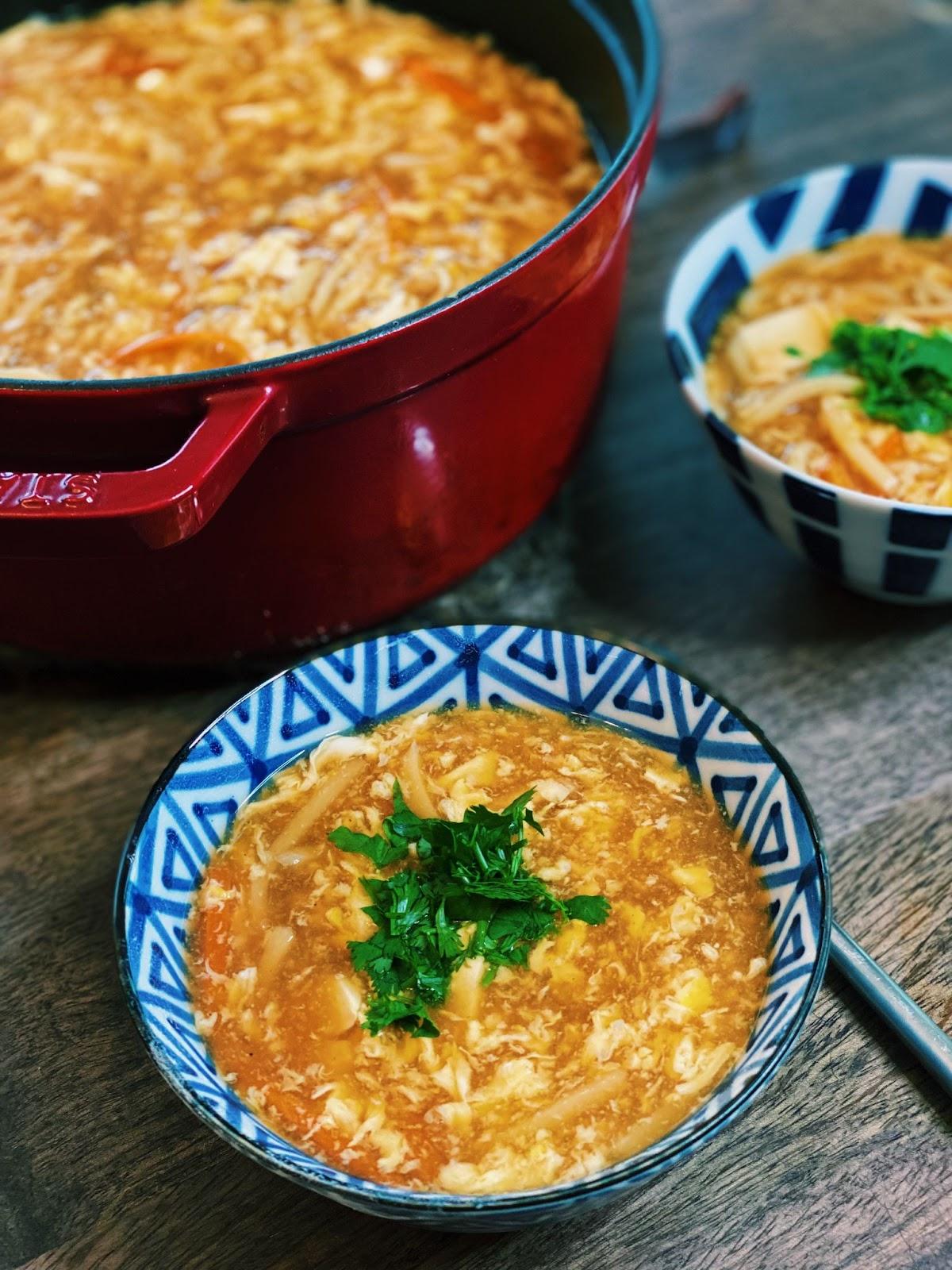 Asian warm Soup
