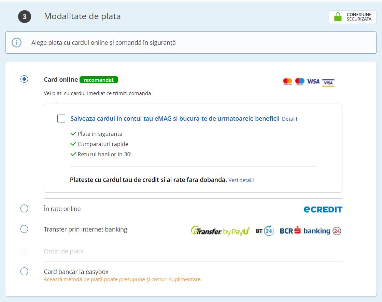 Poti preveni abandonarea coșului de cumpărături prin adaugarea in site a dovezilor seguranta la plata online