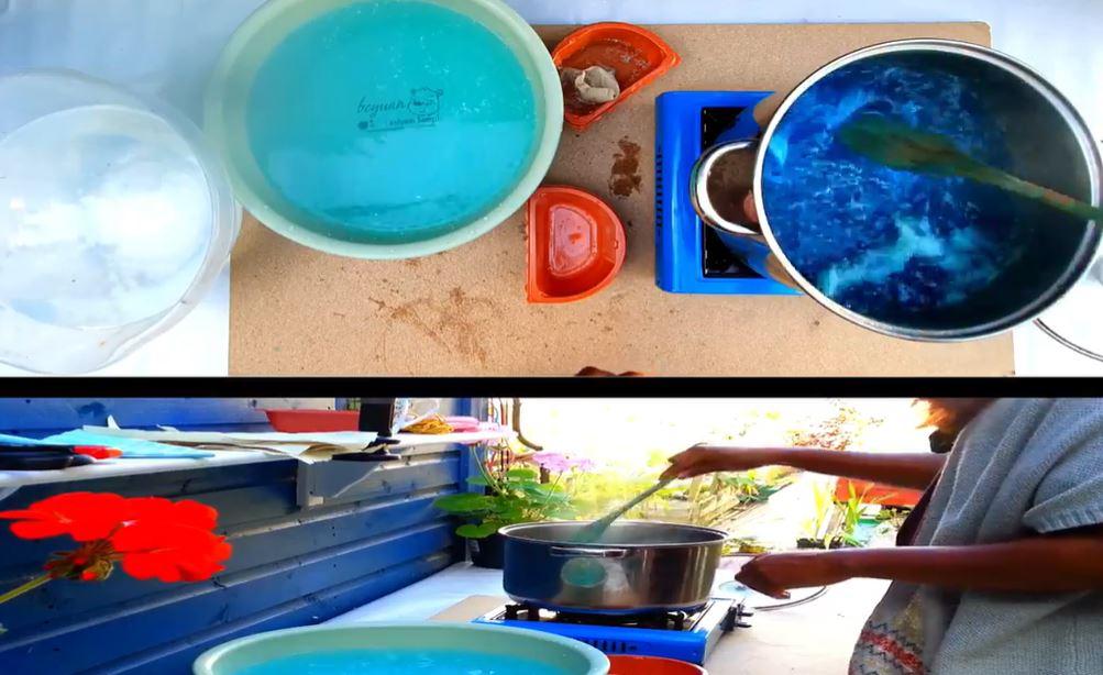 set up pots