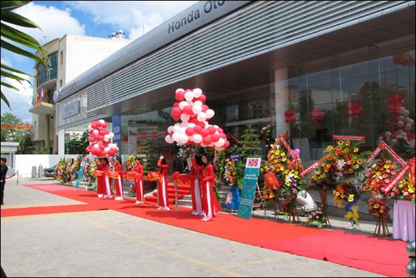 Honda Ô tô Cộng Hoà đã chính thức hoạt động được hơn 10 năm