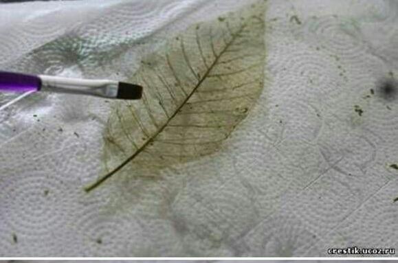 اعادة التدوير و اعمال يدوية من اوراق الهيكل العظمي - تعرف عليها الان