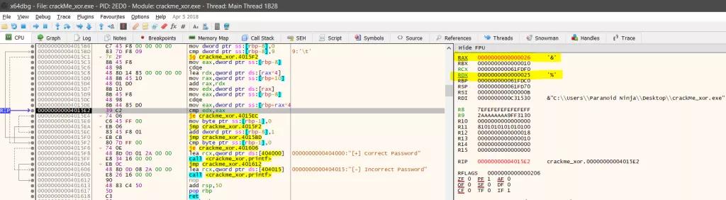 Kỹ thuật dịch ngược cho người mới bắt đầu - Mã hóa  XOR - Windows x64  - Ảnh 17.