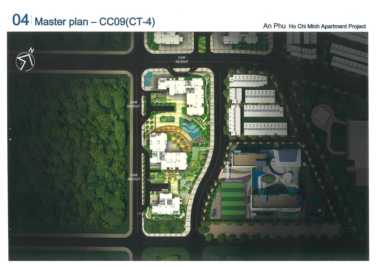 Mặt bằng cụm CT4 dự án Laimian City