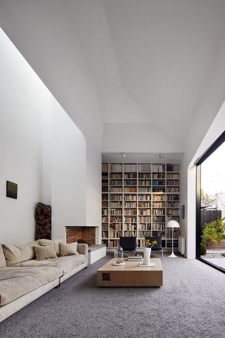 Ideas to have a library at home