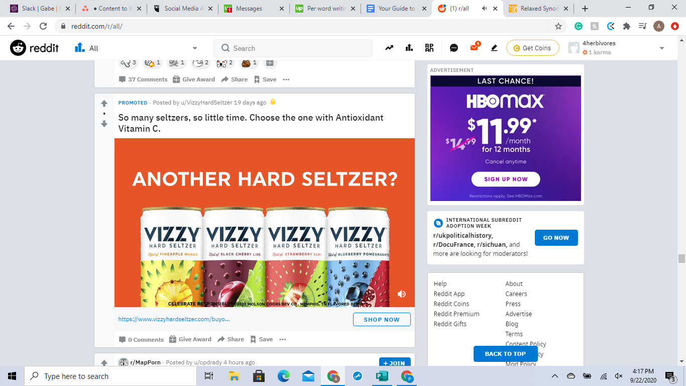 Example of a great Reddit ad