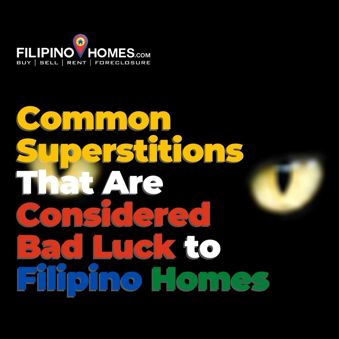 filipino superstitions