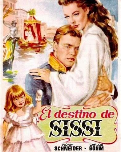 El destino de Sissi (1957, Ernst Marischka)