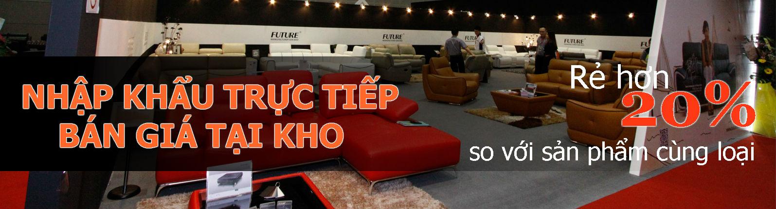 Sofa băng da Future Model 7035 siêu khuyến mại 40% saigonsofa.com