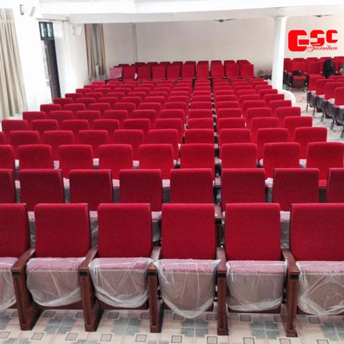 Loại ghế EVO Seating truyền thống dành cho hội trường của giảng đường