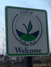 Sign Entering Valley Park MO 63088