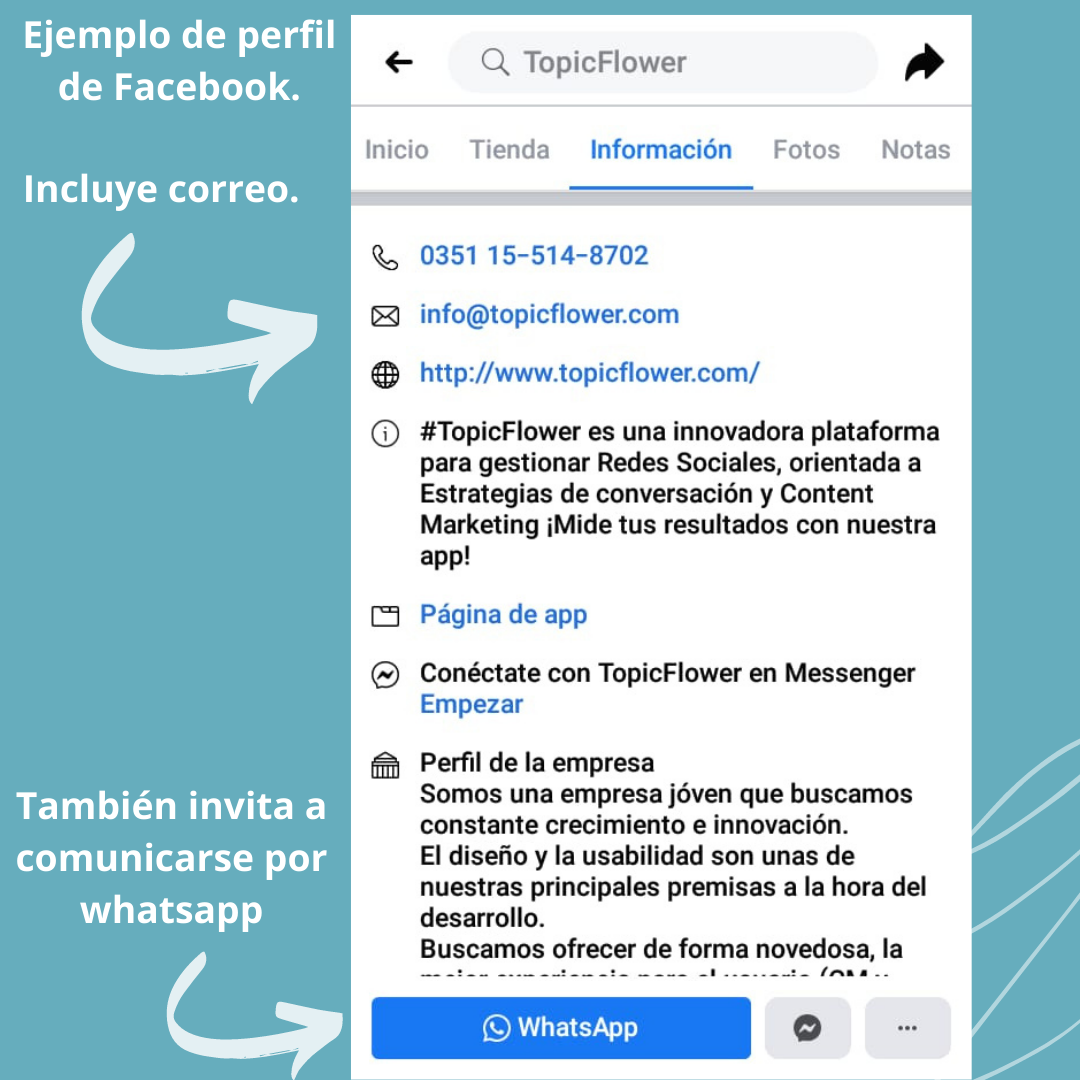 Combinar una estrategia de Redes Sociales con E-mail marketing - Facebook