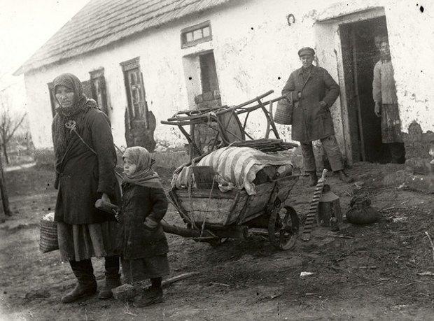 Раскулачивание семьи, деревня Удачное , Донецкая область, начало 1930-х гг.