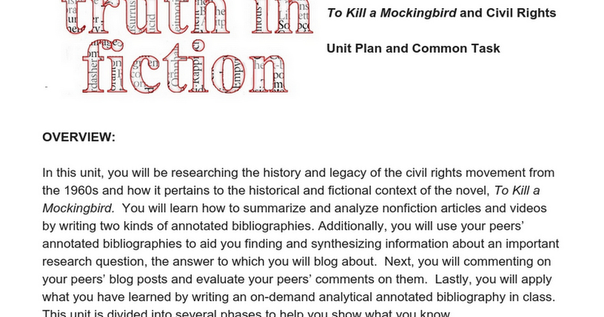 to kill a mockingbird a letter To kill a mockingbird: letter about maycomb- part one writing assignment (test) pretend that it is 1934 and you and your family have just moved to maycomb, alabama and into a house across the street from the finch family.