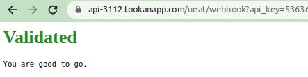 Ueat Integration with Tookan