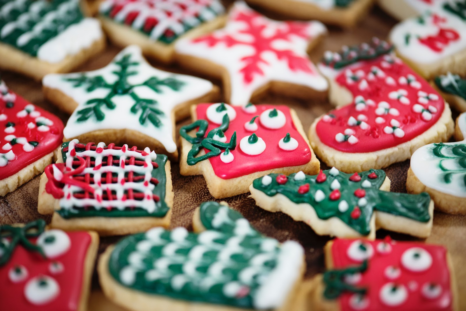 Tempting cookies