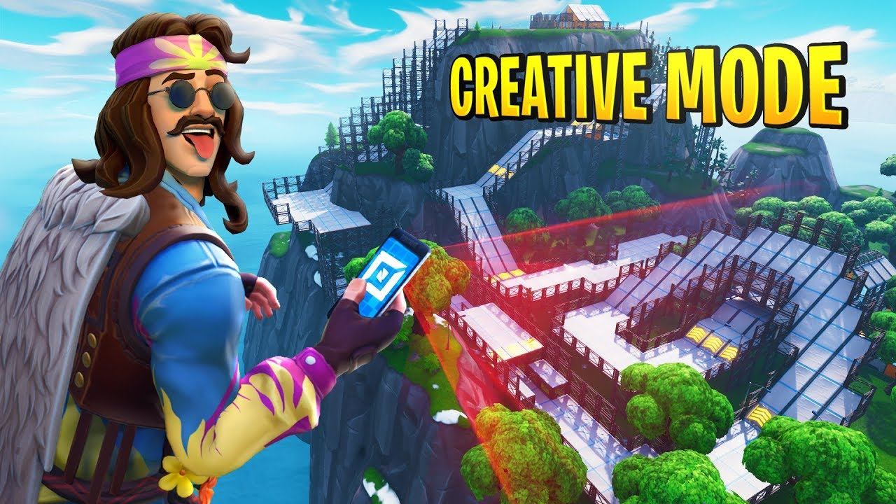 Creative Mode in Fortnite