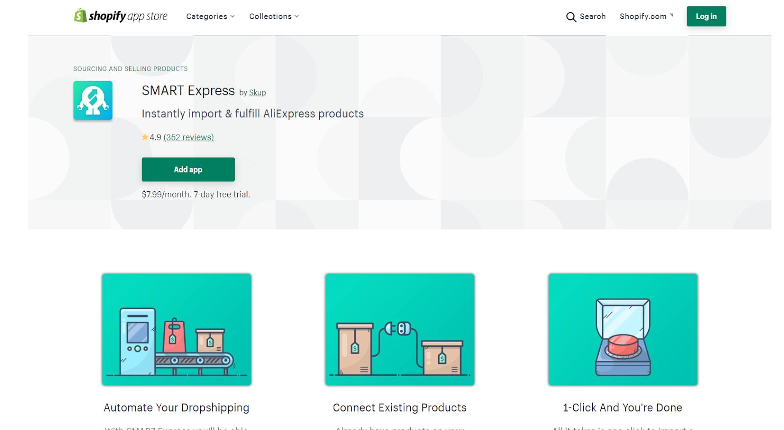 smar7 express dropshipping app