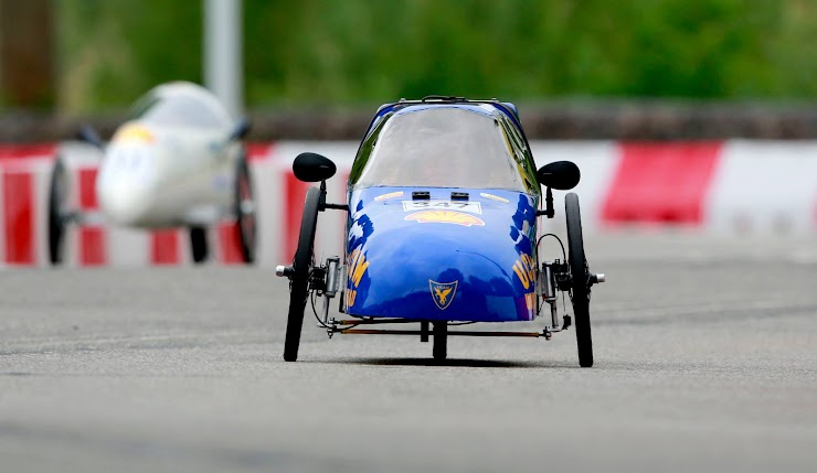 Prototipo #SunRider2018 - Ucam Eco Racing Team compitiendo en la Shell Eco Marathon Europe (Londres)