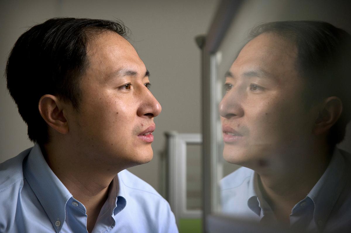 Portrait of He Jiankui