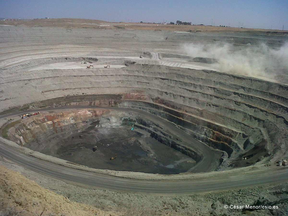 Resultado de imagen para mina de silicio