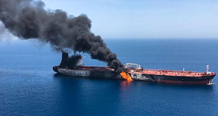 Захват иранского танкера с нефтью 13 июня 2019 года