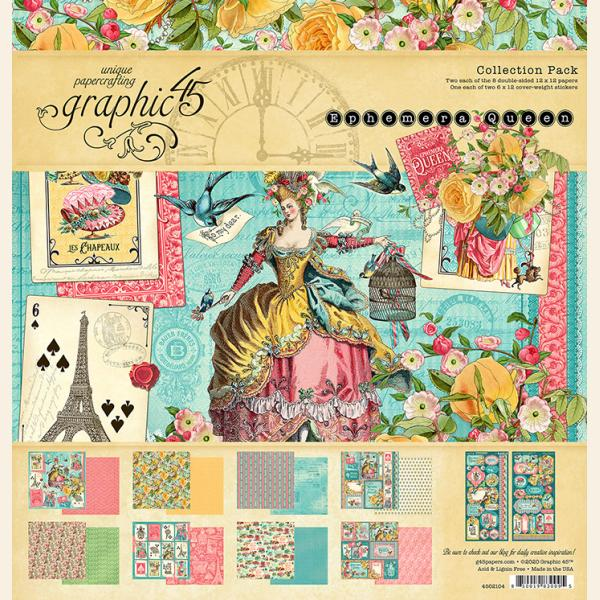 Ephemera Queen 12x12 Collection Pack