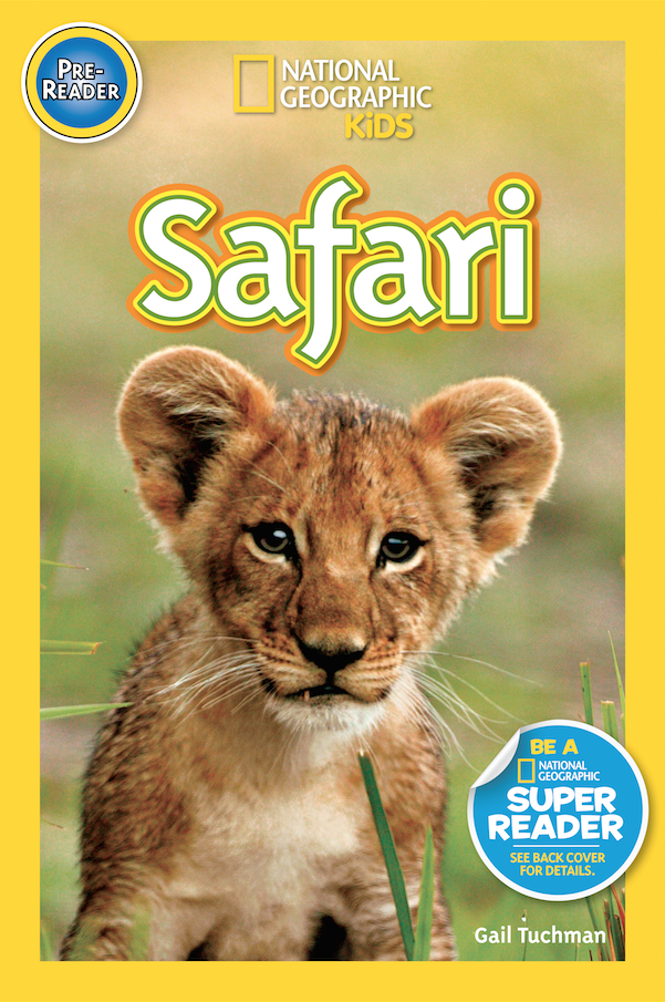 Cover of National Geographic Kids Safari