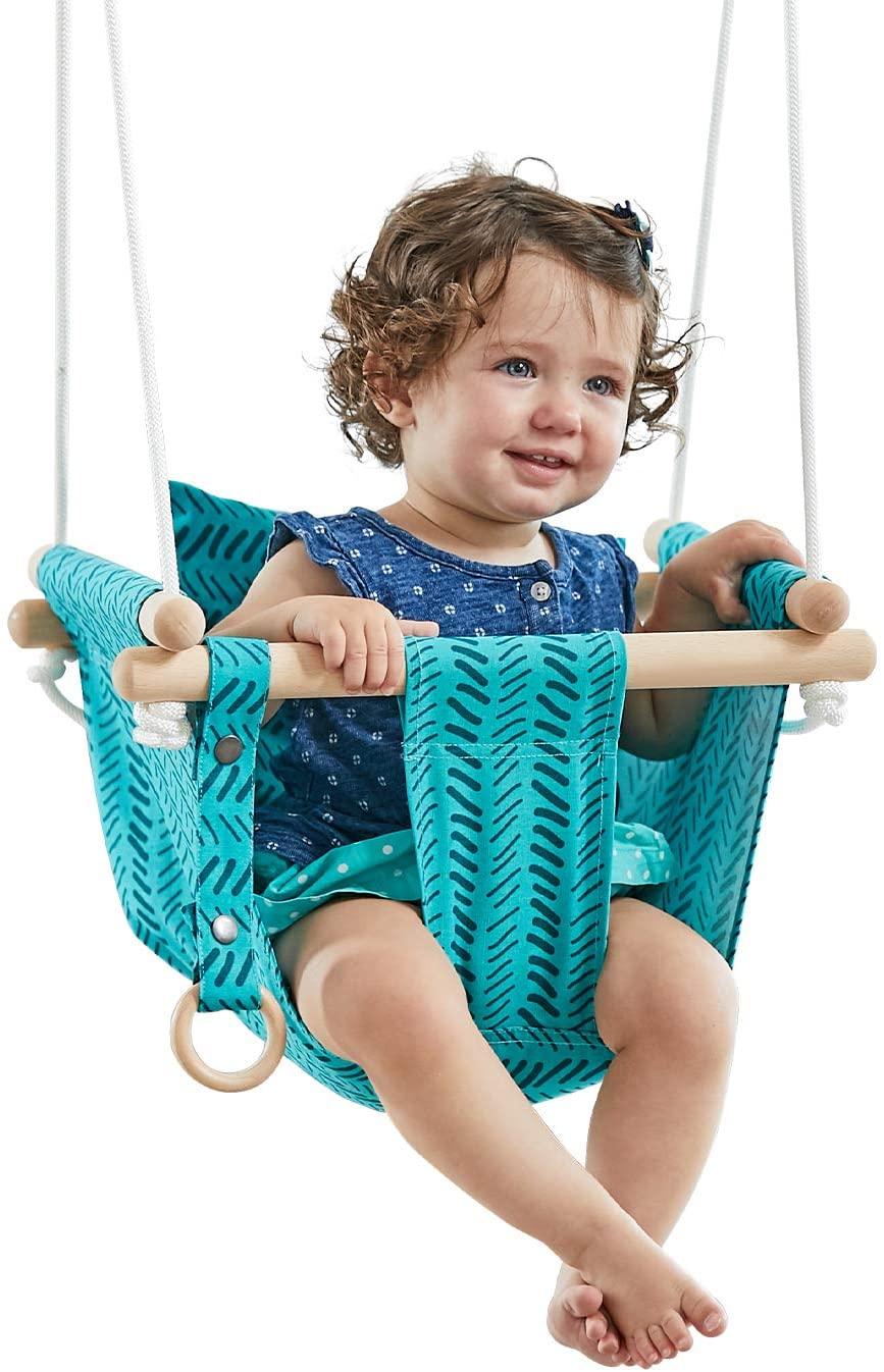 Happy Pie Play & Adventure Canvas Hanging Swing
