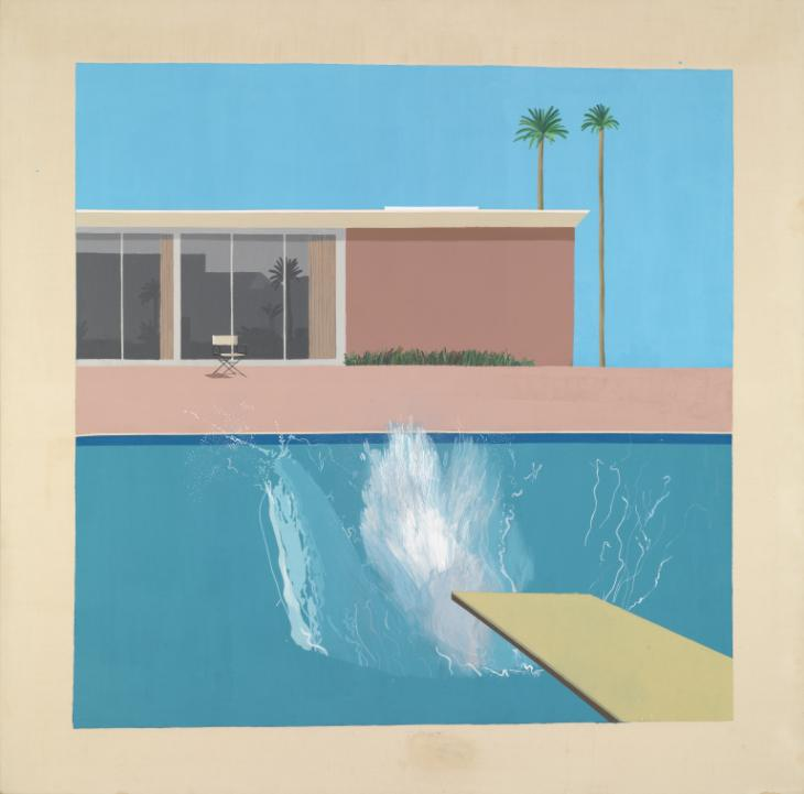 David Hockney, 'A Bigger Splash' 1967