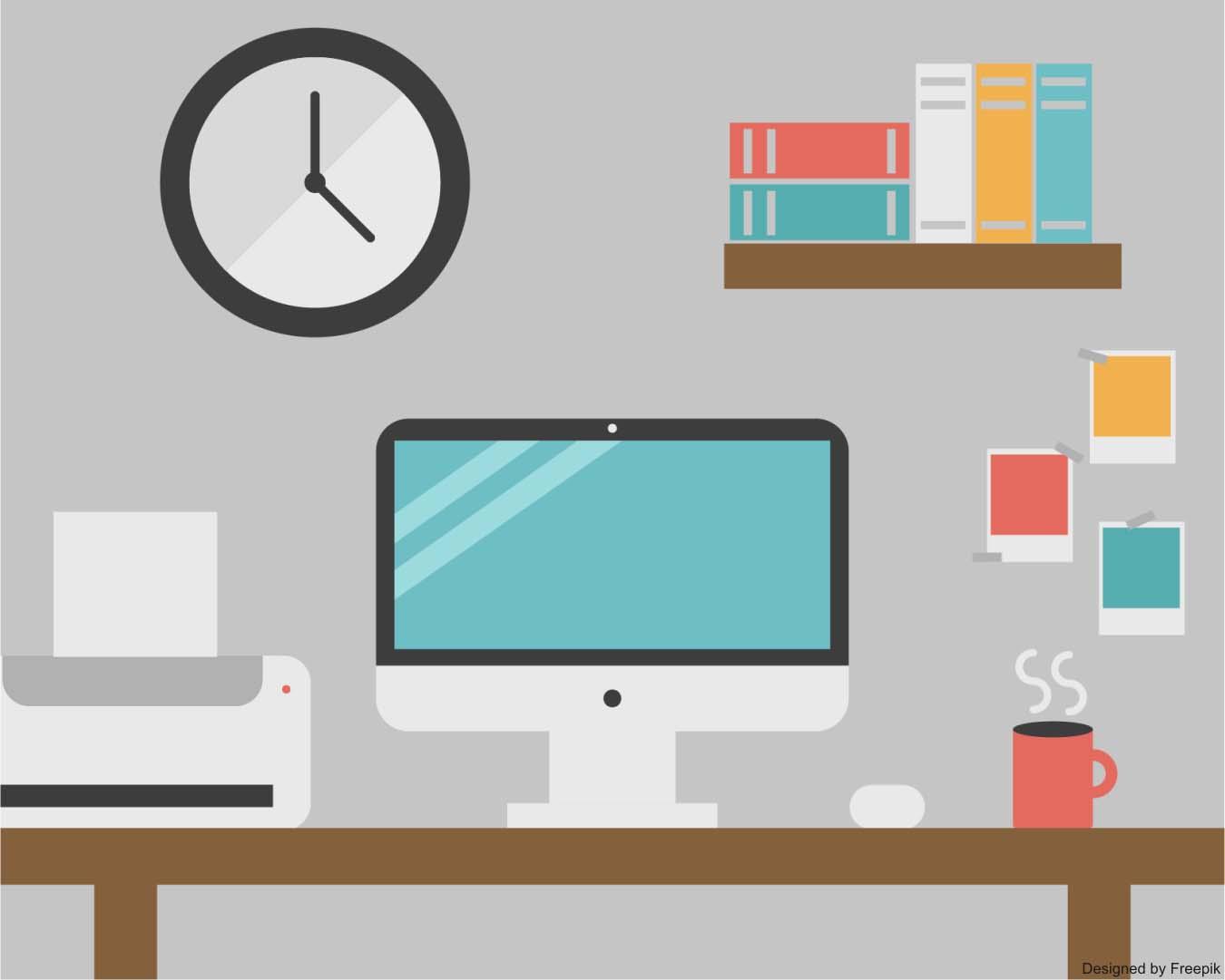 personalização da mesa de trabalho