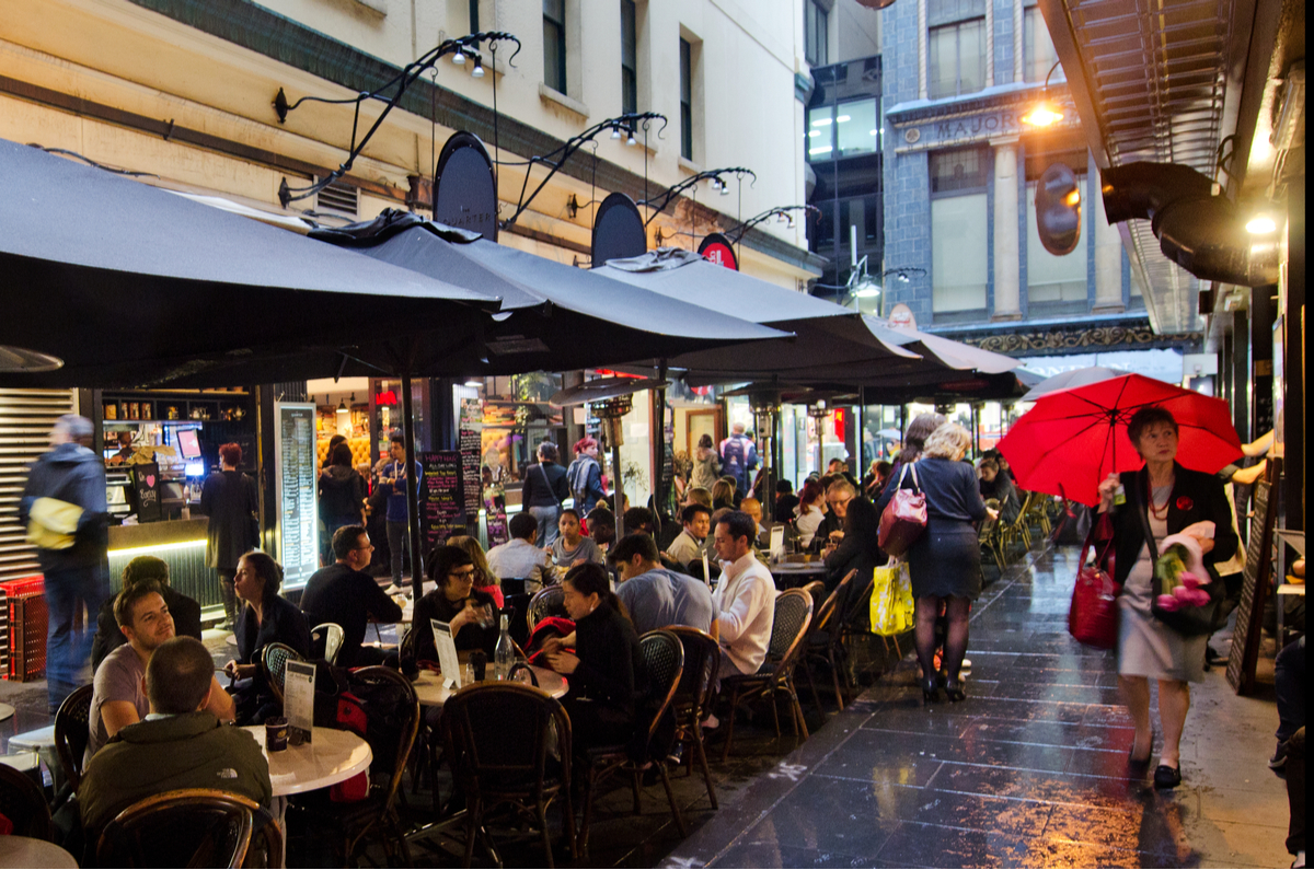 100 things to do in melbourne with laneway restaurants and cafes