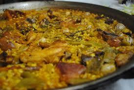 Resultat d'imatges de paella valenciana