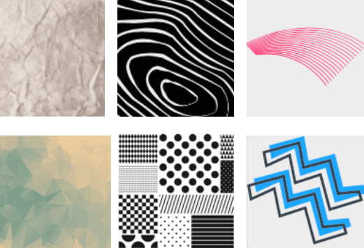 Designmaker's textured backgrounds to incorporate into your designs.