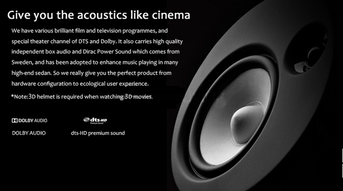 give you the acoustics like cinema