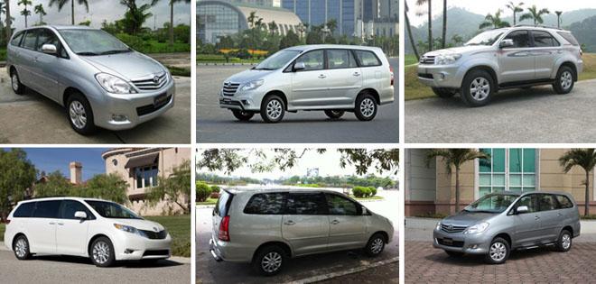 Dịch vụ thuê xe 7 chỗ tại quận Tân Phú của công ty Huy Đạt